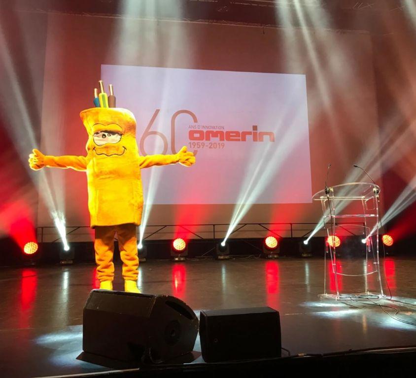 60 ans de la société Omerin